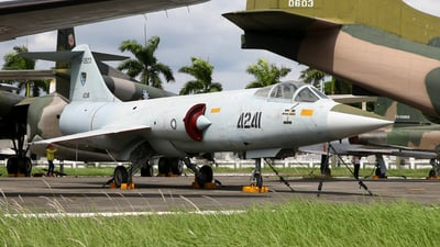 4241 - Lockheed F-104A Starfighter - Taiwan - Air Force