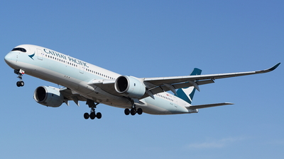 B-LRJ - Airbus A350-941 - Cathay Pacific Airways