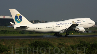 TF-AMZ - Boeing 747-446 - Saudi Arabian Airlines (Air Atlanta Icelandic)