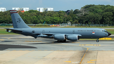 750 - Boeing KC-135R Stratotanker - Singapore - Air Force