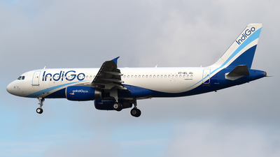 A picture of VTIEL - Airbus A320232 - IndiGo - © Andrew Hunt