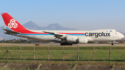 LX-VCD - Boeing 747-8R7F - Cargolux Airlines International