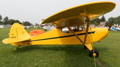 N4444H - Piper PA-15 Vagabond - Private