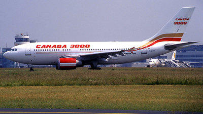 C-GRYV - Airbus A310-304 - Canada 3000 Airlines