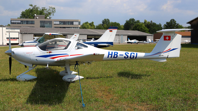 HB-SGI - Diamond DA-20-C1 Eclipse - Fliegerschule Birrfeld