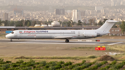 EP-ZAM - McDonnell Douglas MD-82 - Zagros Airlines