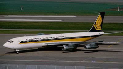 9V-BFN - Boeing 707-338C - Singapore Airlines Cargo