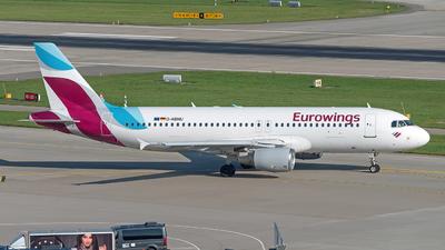 A picture of DABNU - Airbus A320214 - Eurowings - © Sebastian Thiel