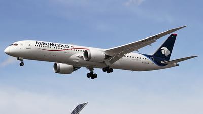 N128AM - Boeing 787-9 Dreamliner - Aeroméxico