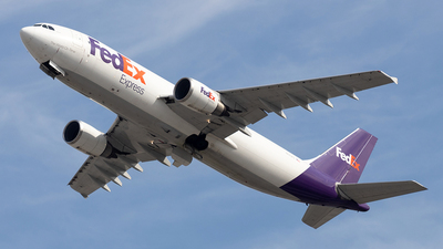 A picture of N670FE - Airbus A300F4605R - FedEx - © Felipe Garcia