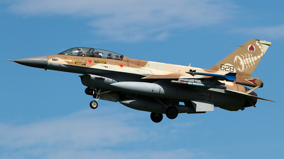 628 - General Dynamics F-16D Barak - Israel - Air Force