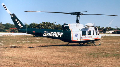 N911GE - Bell EH-1H Iroquois - United States - Monroe County Sheriff