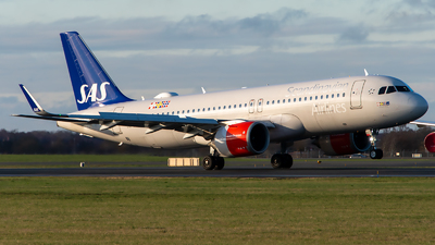 A picture of SEDOZ - Airbus A320251N - SAS - © GoldenWingPix