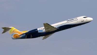 9A-BTD - Fokker 100 - Trade Air
