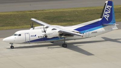 JA8889 - Fokker 50 - All Nippon Airways (Air Central)
