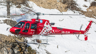 HB-ZLW - Eurocopter AS 350B3 Ecureuil - Air Zermatt