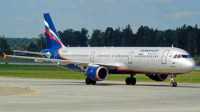 A picture of VQBED - Airbus A321211 - Aeroflot - © Timofey Panteleev