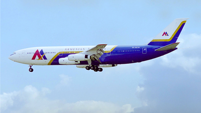 EK-86118 - Ilyushin IL-86 - Armenian Airlines