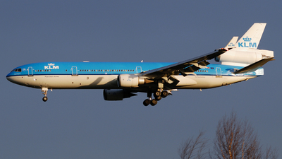 PH-KCK - McDonnell Douglas MD-11 - KLM Royal Dutch Airlines