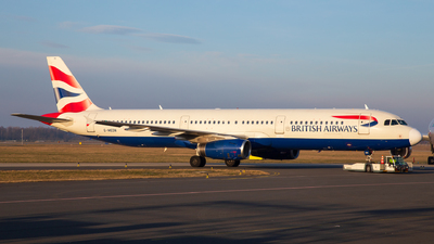 G-MEDN - Airbus A321-231 - British Airways