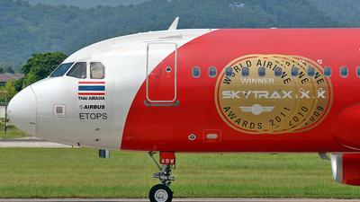 HS-ABW - Airbus A320-216 - Thai AirAsia