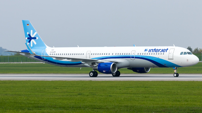 D-AVZR - Airbus A321-211 - Interjet