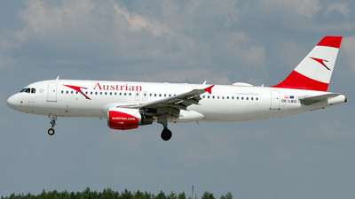 OE-LBQ - Airbus A320-214 - Austrian Airlines