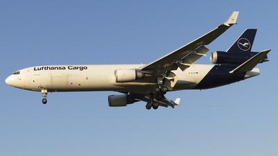 A picture of DALCB - McDonnell Douglas MD11F - Lufthansa Cargo - © Lucas Sérgio