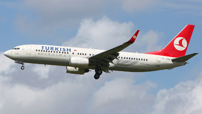 TC-JFG - Boeing 737-8F2 - Turkish Airlines