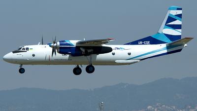 UR-CQE - Antonov An-26B - Vulkan Air