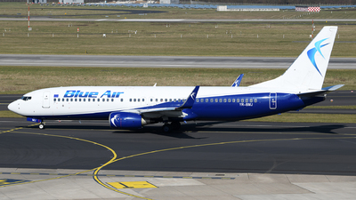 YR-BMJ - Boeing 737-82R - Blue Air