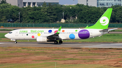 B-6990 - Boeing 737-86N - 9Air