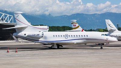 LX-LMF - Dassault Falcon 7X - Global Jet Luxembourg
