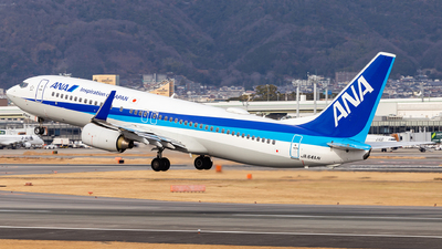 A picture of JA64AN - Boeing 737881 - All Nippon Airways - © LUSU