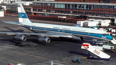 9K-ACM - Boeing 707-369C - Kuwait Airways