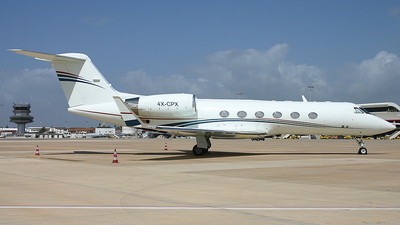 4X-CPX - Gulfstream G-IV(SP) - Arkia Israeli Airlines