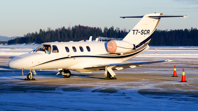 T7-SCR - Cessna 525 Citation CJ1 - Private