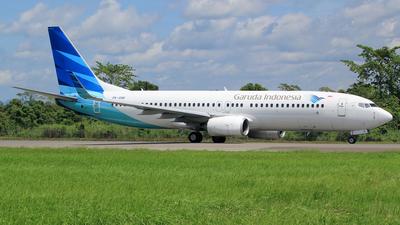 PK-GNR - Boeing 737-8U3 - Garuda Indonesia