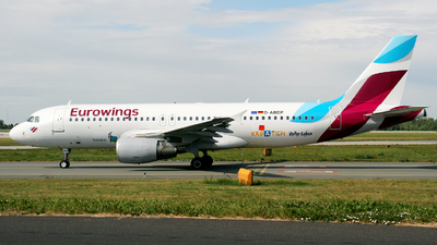 D-ABDP - Airbus A320-214 - Eurowings (Air Berlin)