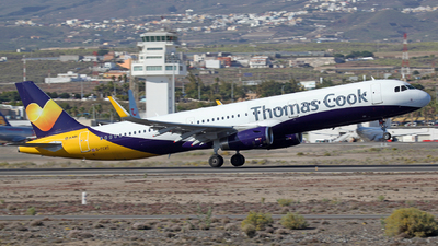 G-TCVC - Airbus A321-231 - Thomas Cook Airlines