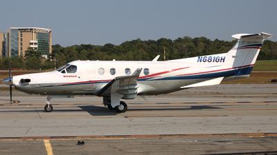 A picture of N681GH - Pilatus PC12/45 - [681] - © ajwebb