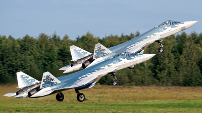 054 - Sukhoi Su-57 - Russia - Air Force