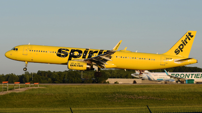 A picture of N663NK - Airbus A321231 - Spirit Airlines - © DJ Reed - OPShots Photo Team