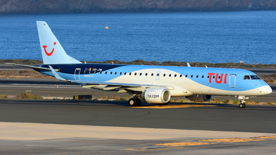 A picture of OOJVA - Embraer E190STD - TUI fly - © Alejandro Hernández León