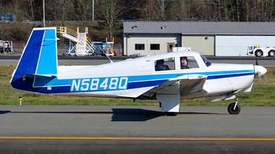 N5848Q - Mooney M20C - Private