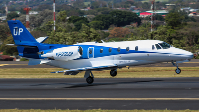 N500UP - Cessna 560XL Citation Excel - Wheels Up