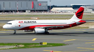 ZA-BBC - Airbus A320-232 - Air Albania