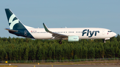 A picture of LNFGA - Boeing 73782R - Flyr - © Laszlo Fekete