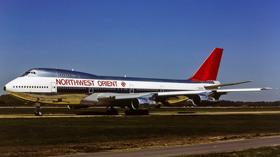 N632US - Boeing 747-251B - Northwest Orient Airlines