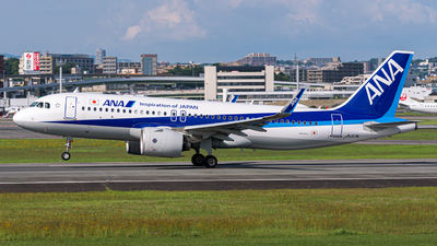 JA217A - Airbus A320-271N - All Nippon Airways (ANA)